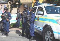 """Der South African Police Service (SAPS, deutsch etwa """"Südafrikanischer Polizeidienst"""") ist seit 1995 die Polizei in Südafrika."""