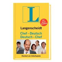 """Langenscheidt Sprachführer """"Chef-Deutsch/Deutsch-Chef"""" von Bernd Stromberg, Bildquelle: obs/Langenscheidt KG"""