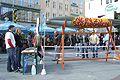 Aktionstag gegen Streumunition in München am 6.10.2007. © Handicap International