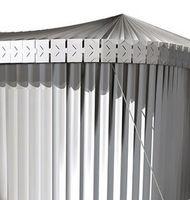 """""""Textile Wall"""": Das einfache System ist äußerst flexibel. Bild: polimi.it"""