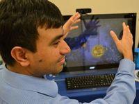 """Perceptual Computing"": den PC freihändig steuern. Bild: intelfreepress.com"