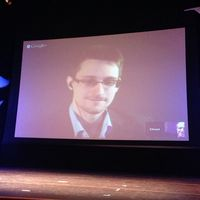 Edward Snowden Bild: stereogab, on Flickr CC BY-SA 2.0