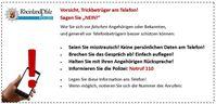 Falsche Polizei und Polizeibeamte: Vorsicht vor Trickbetrügern am Telefon!