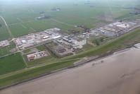 Gaskavernenbaustelle an der Ems