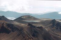 Der Tongariro ist ein Vulkan-Massiv auf der Nordinsel Neuseelands.