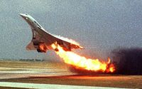 Flug 4590 der Air France verunglückte am 25. Juli 2000