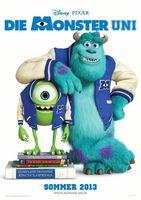 """Kinoplakat von """"Die Monster Uni"""""""