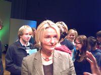 Kirsten Boie 2007 bei der Verleihung des Deutschen Jugendliteraturpreises für ihr Lebenswerk.
