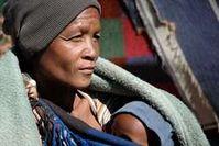 Mutter und Kind der Buschleute. Bild: A. Bagge/Survival