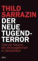 """Cover """"Der neue Tugendterror: Über die Grenzen der Meinungsfreiheit in Deutschland"""" von Sarrazin"""