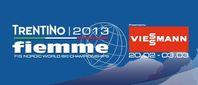 Logo der FIS Nordischen Ski-Weltmeisterschaften 2013 in Val di Fiemme