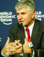 Zoran Đinđić, Januar 2003 in Davos