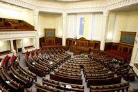 Ukraine: Sitzungssaal des Parlaments (Oberster Rada)