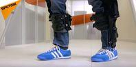 """Bild: Screenshot Youtube Video """"Mit Exoskelett zurück ins Leben laufen: Verkauf in Russland gestartet"""""""