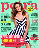 "PETRA 06.15 - Titelcover Bild, PETRA/JAHRESZEITEN VERLAG"""