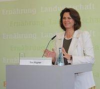Ilsa Aigner / Bild: Bundesministerin Ilse Aigner, de.wikipedia.org