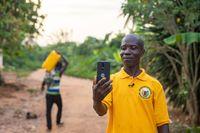 George Ansah, Kakaobauer der Fairtrade-Kooperative Fanteakwa in Ghana. Bild: Nipah Dennis / Fairpicture Fotograf: Nipah Dennis
