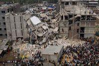 Rana Plaza: Das eingestürzte Gebäude