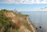 Klein Zicker: Steilküste im Westen der Halbinsel
