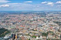 Berlin: Ausdehnung des Stadtraums vom Zentrum in Richtung Norden