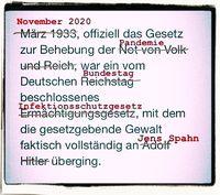 Wiederholt sich 1933 in 2020? (Symbolbild)