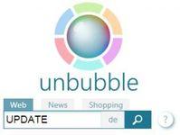 """Suchmaschine in neuem Gewand: Unbubble.eu kommt mit verbesserten Algorithmen und frischem Design. Bild: """"obs/Unbubble.eu"""""""