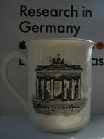 Eine Tasse im DAAD in der deutschen Botschaft in Moskau
