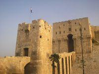 Portal der Zitadelle von Aleppo