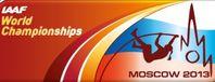 Die 14. Leichtathletik-Weltmeisterschaften finden vom 10. bis 18. August 2013 im Olympiastadion Luschniki in Moskau statt. Grafik: IAAF