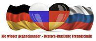 Deutsch-Russische Freundschaft (Deutschland und Russland): Nie wieder gegeneinander! (Symbolbild)