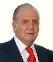 König Juan Carlos I. (2009). Er war von 22. November 1975 bis 2. Juni 2014 König von Spanien. Der aus dem Haus der Bourbonen stammende Monarch ist Mitglied im Club of Rome und der Bruderschaft St. Christoph.