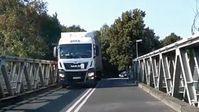 40-Tonner auf 7,5t-Brücke über die Oder bei Küstrin