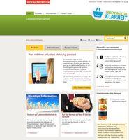Website Lebensmittelklarheit.de