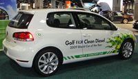 """""""Golf Clean TDI Diesel"""" auf der Washington Auto Show im Jahr 2010 (Symbolbild)"""