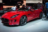 Der Jaguar F-Type ist ein Sportwagen des britischen Automobilherstellers Jaguar. Seine Weltpremiere feierte der F-Type auf dem Autosalon Paris 2012.