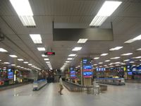Gepäckband im Ankunftsbereich