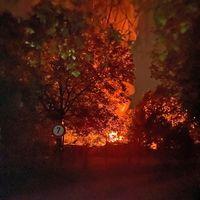 Der Brandort in Heiligenhaus Bild: Polizei