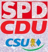 Große Koalition (GroKo) mit SPD, CDU und CSU (Symbolbild)