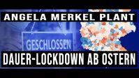 """Bild: SS Video: """"Ab Ostern: Merkel plant Dauer-Lockdown für Deutschland"""" (https://youtu.be/XvK91FfdDrg) / Eigenes Werk"""