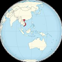 Vietnam auf der Welt