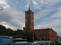 Rotes Rathaus in Berlin. Bild ExtremNews