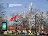 Leider wird über die Gefahren zu wenig gesprochen, wie dass ein Gericht in Italien eine Tumorbildung durch Mobilfunk-Strahlung anerkannte! (Symbolbild)
