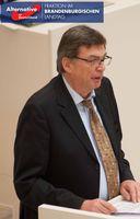 """Thomas Jung (hier bei einer Rede im Landtag Brandenburg). Bild: """"obs/AfD-Fraktion im Brandenburgischen Landtag/AfD-Fraktion im Landtag BRB"""""""