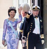 Die deutsche Königin Silvia, bürgerlich Silvia Renate Sommerlath, und der König (2015)