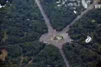 Millionen friedliche Demonstranten in Berlin am 29.08.2020.