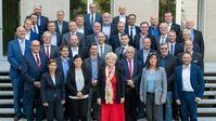 Die AfD-Landtagsfraktion in Sachsen am 12.9.2019. Jörg Urban wieder zum Vorsitzenden der AfD-Fraktion im Sächsischen Landtag gewählt.
