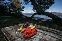 Aus den Tiefen des Ozeans kommen Algen, schwarzer Seehecht und Königskrabben. Bild: Turismo de Argentina Fotograf: Turismo de Argentina