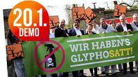 Wir haben Glyphosat sowas von satt – Großdemo am 20. Januar 2018 in Berlin