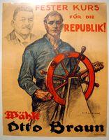 SPD Plakat von 1924 (Symbolbild)
