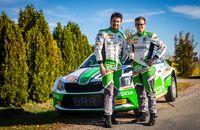 Das SKODA AUTO Deutschland Duo Fabian Kreim/Frank Christian (D/D)